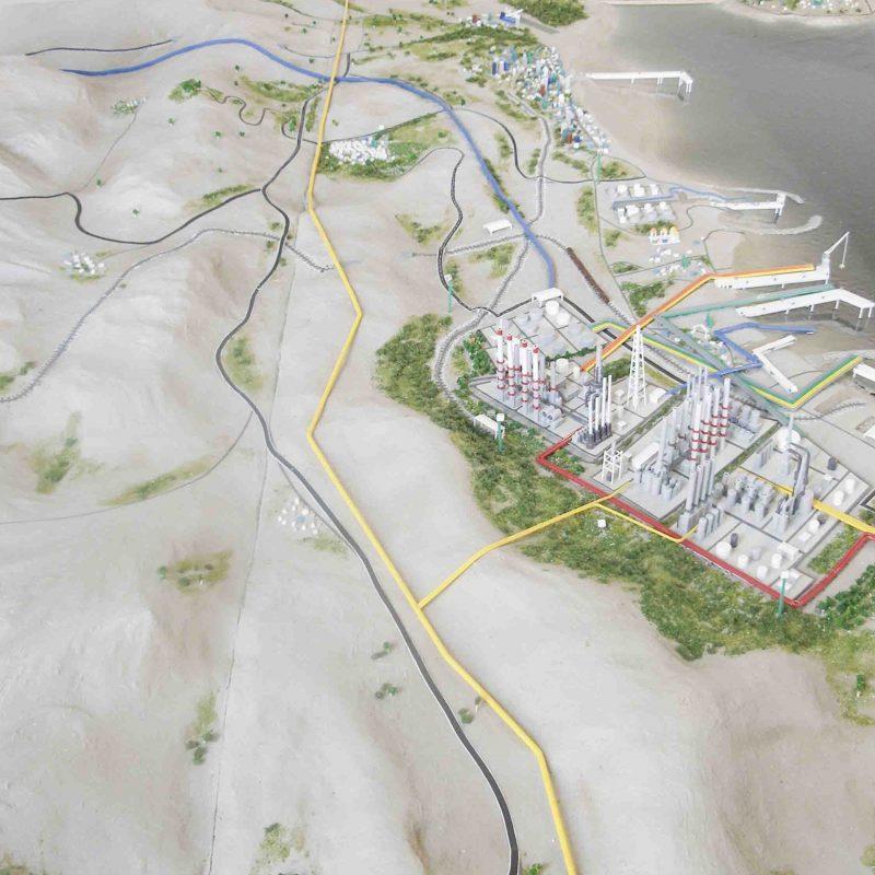 پروژه منطقه نفتی-مجتمع پالایشگاهی هرمزگان